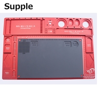 Supple High Heat Resistant Pad For BGA Soldering Aluminum Alloy Precision Electronic Mobile Phone Repair Silicone