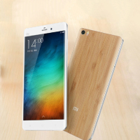 Simple Design Natural Bamboo Wood Replacement Back Cover Battery Housing Cover Case For Xiaomi Mi Note