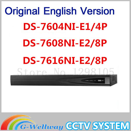 Original English version DS-7600 DS-7604NI-SE/P DS-7608NI-SE/P DS-7616NI-SE/P samilar with DS-7608NI-E2/8P DS-7616NI-E2/8P 16ch 8poe nvr 7616ni se p original english version
