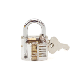 Cutaway inside view of practice transparent lock training skill pick view padlock for locksmith with smart.jpg 250x250