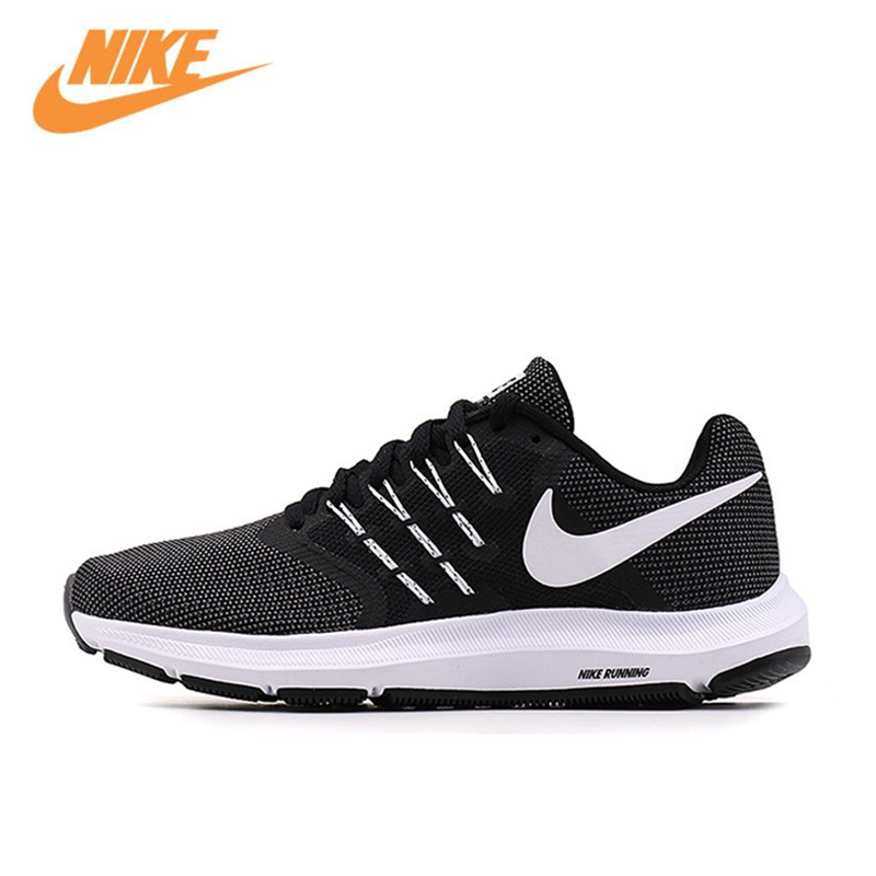 купить Nike RUN SWIFT Men's Breathable Original New Arrival Official Running Shoes Sports Sneakers 908989-001 по цене 5046.41 рублей