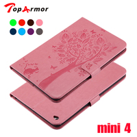 TopArmor Tablet Case For Apple IPad Mini4 Mini 4 Cover High Quality PU Leather Flip Stand