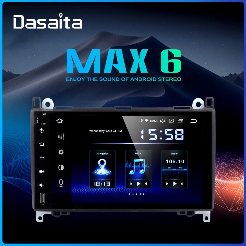 Dasaita 9 IPS 2 Din Car Multimedia Player for Benz A B Class Sprinter Vito 2006