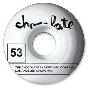 Image 5 - Roues de planche à roulettes graphiques de chocolat de marque des etats unis 51/52/53/54/55mm roues de patin dunité centrale route de rue quatre roues planche à roulettes