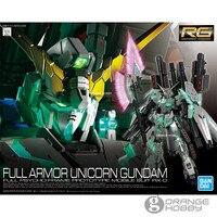 Bandai RG 30 1/144 Full Armor Unicorn Gundam Mobile Suit RX 0 Assembly Model Kits