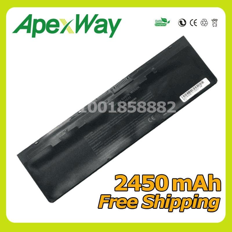 Apexway 11.1 v WD52H batterie D'ordinateur Portable Pour Dell KWFFN J31N7 GVD76 HJ8KP NCVF0 Pour Dell Latitude 12 7000 E7240 E7440 e7250 Série