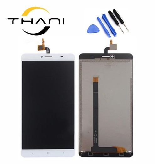 Thani 100% original 6.5inch for Doogee Y6 max Y6MAX LCD Display+Touch Screen Digitizer Assembly Replacement+Free Tools 100% tested for xiaomi mi max 2 lcd display touch screen replacement parts 6 44 inch with tools as gift free tracking
