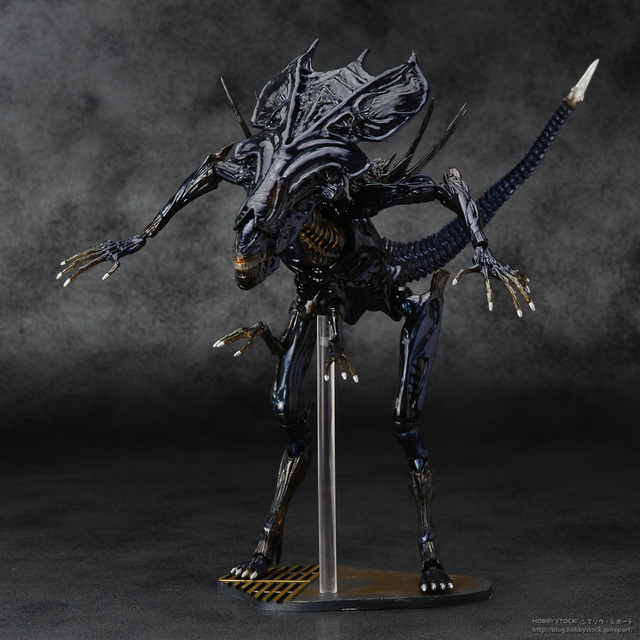 SCI-FIRECOLTECK Aliens Series No.018 Alien Queen Xenomorph Warrior PVC Action Figure Collectible Model Toy Doll 32cm KT464