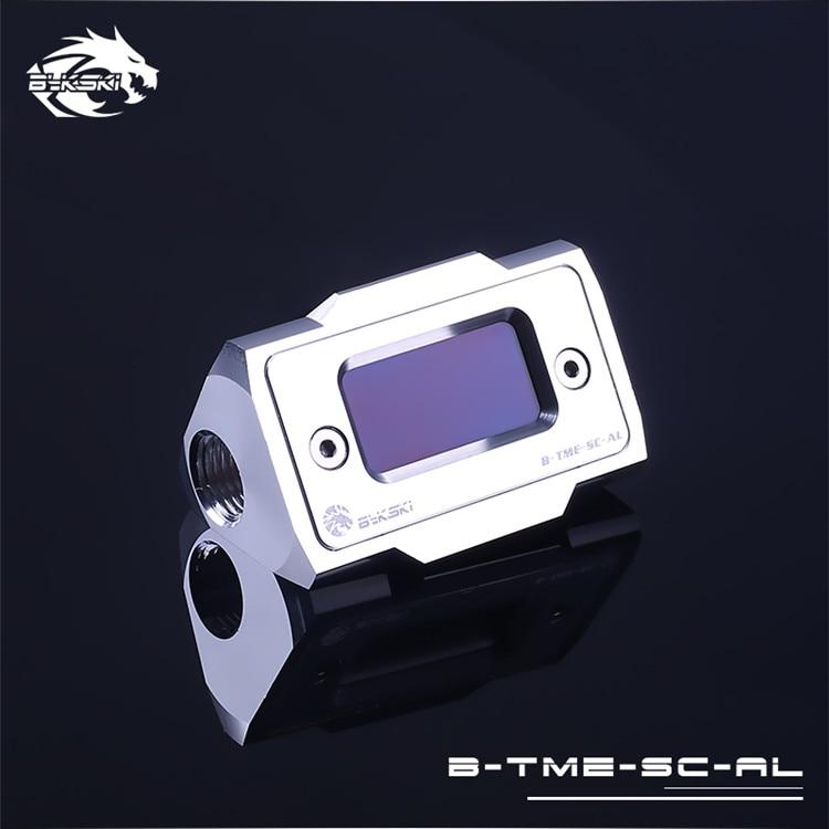 BYKSKI silverversion G1 / 4 Plugg / slangmontering / OD14mm - Datorkablar och kontakter - Foto 3