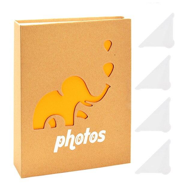 7inch Photo Album De Fotos Grande Fotoalbum Elephant Baby Scrapbooking Photo Storage Fotograf Albumu Saving Memory Souvenir