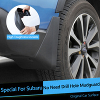 4 Pcs Set High Quality MUD FLAP FLAPS SPLASH GUARD Mudflaps Fenders Special For Subaru Forester