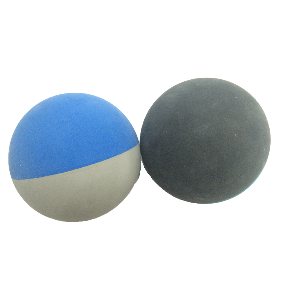 12pcs/lot 5.5cm Racquet ball Squash Low Speed Rubber Hollow Ball Training Competition Th ...