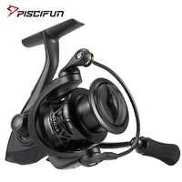 Piscifun Carbon X Spinning Reel Light to 162g 5.2:1 / 6.2:1 Gear Ratio 11 BB 1000 2000 3000 4000 Saltwater Fishing Reel