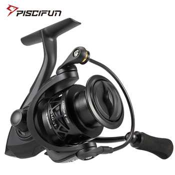 Piscifun Carbon X Spinning Reel Light to 162g 5.2:1 / 6.2:1 Gear Ratio 11 BB 1000 2000 3000 4000 Saltwater Fishing Reel - DISCOUNT ITEM  49% OFF All Category