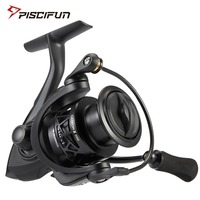 Piscifun Carbon X Spinning Reel Light to 220g 6.2:1 Gear Ratio 11 BB Carbon Frame Rotor 2000 3000 4000 Saltwater Fishing Reel