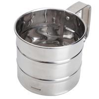 Нержавеющая сталь сито для муки сетки Муки Болт просеиватель ручной сахарной глазури шейкер механические выпечки сито кухня инст