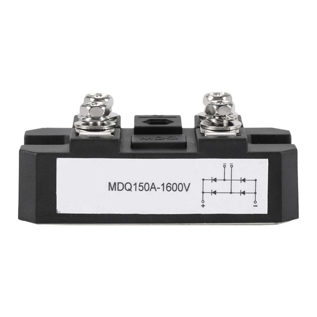 1Pcs High Power Bridge Module Single-Phase Diode Bridge Rectifier 150A Amp 1600V Best Offer Local Fast Shipping