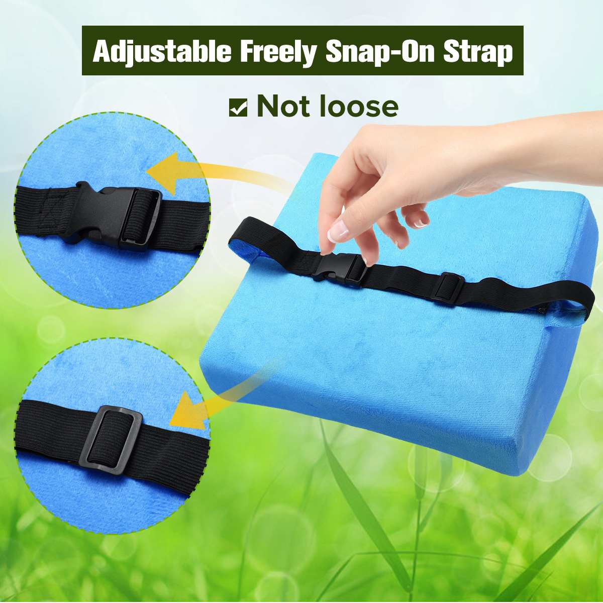 6 Color Lumbar Pillows Made Of Soft Foam For Car Seat To Support And Relieve Back Pain 7