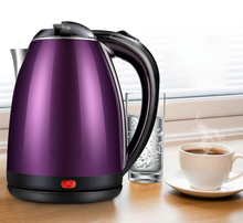 Anti Scald 2L Electric Kettle Safety Auto-Off function Stainless Steel Quick Heating Water Kettles bouilloire electrique