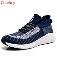 Men Casual Shoes Sports Lightweight Breathable Outdoor Mesh Cloth Round Head Strap 36-44