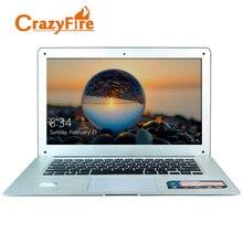 CrazyFire 14 дюймов quad core ноутбук 4 ГБ оперативной памяти и 128 ГБ и 1 ТБ ноутбук WiFi Mini HDMI Windows 10 рабочих ультратонкий ноутбук
