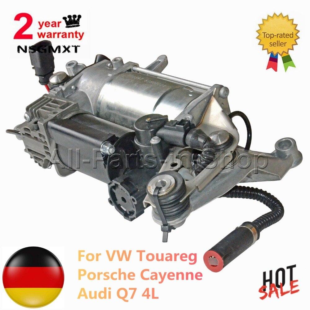 Suspension pneumatique Compresseur Pompe Pour Touareg Porsche Cayenne Audi Q7 4L 4L0698007A 4154033050 7L8 616 007 F 3.0 TDI 6.0 3.6 4.2