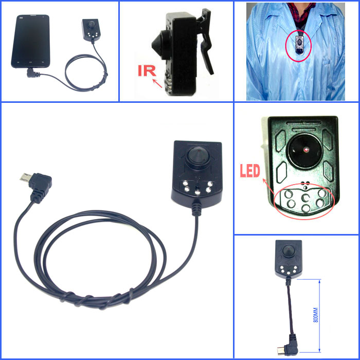 ФОТО Android Phone OTG USB Infrared Night Vision Camera  For Mobile Security Surveillance