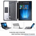 Для Microsoft Surface 3 Случай Клавиатуры, Тонкий Алюминиевый Случай Клавиатуры Bluetooth Стенд С Тачпадом Для Microsoft Surface 3 10.8 Дюйма