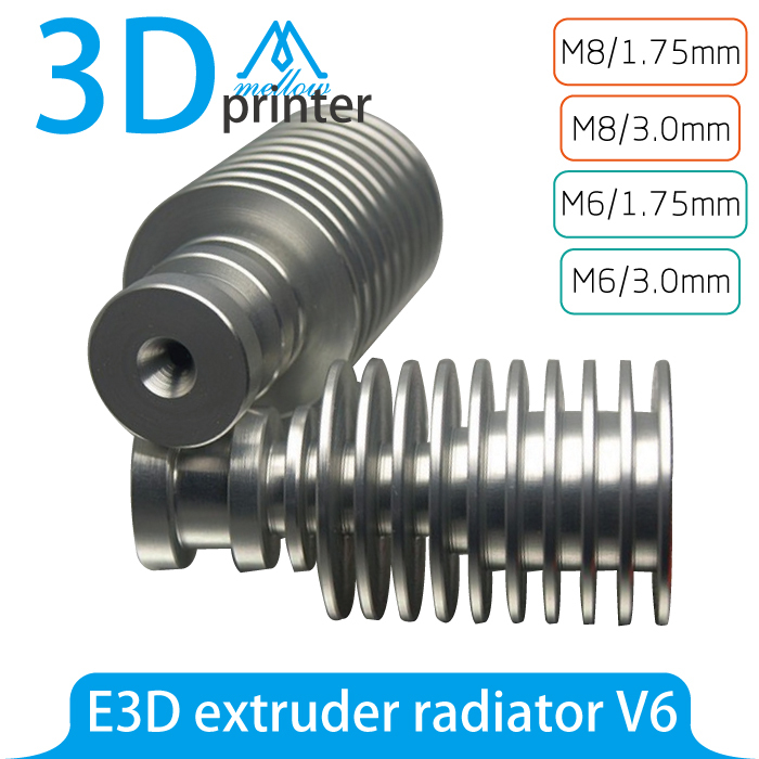 V6 replacement Heat break for E3D V6 Bowden and Direct Hotends 1.75mm Reprap Prusa i3 3D printer
