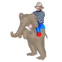 Halloween Costumes Fancy Dress Adult Chub Suit Inflatable Blow Up Elephant Costume Outfit Halloween Costume For