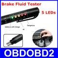Líquido De Freio Testador De Fluido de Freio de alta Qualidade 5 LED Indicador Digital Caneta de Teste de Detecção de Veículo Auto Carro Ferramenta De Testes Automotivos