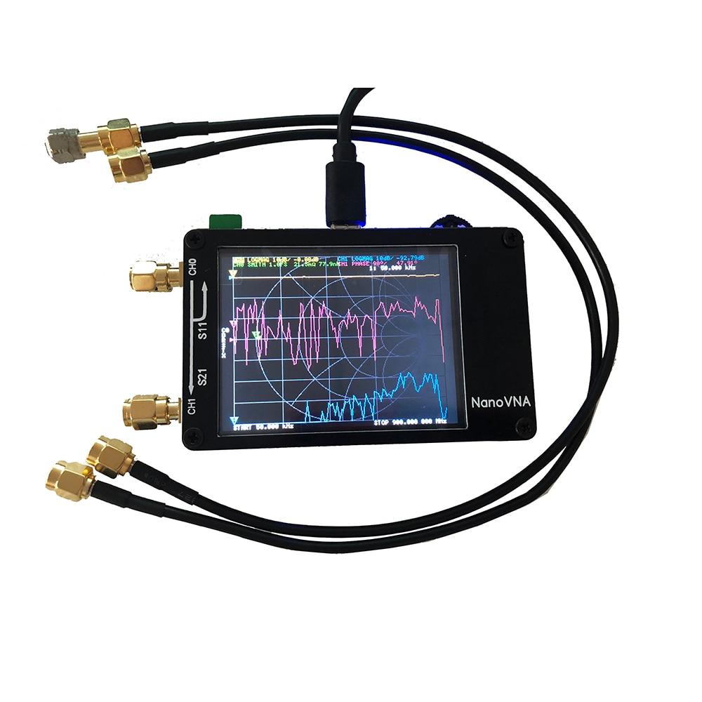 Image 5 - Lusya NanoVNA 2.8 inch Touch LCD HF VHF UHF UV Vector Network Analyzer 50KHz   300MHz Antenna Analyzer A6 010-in Radio from Consumer Electronics