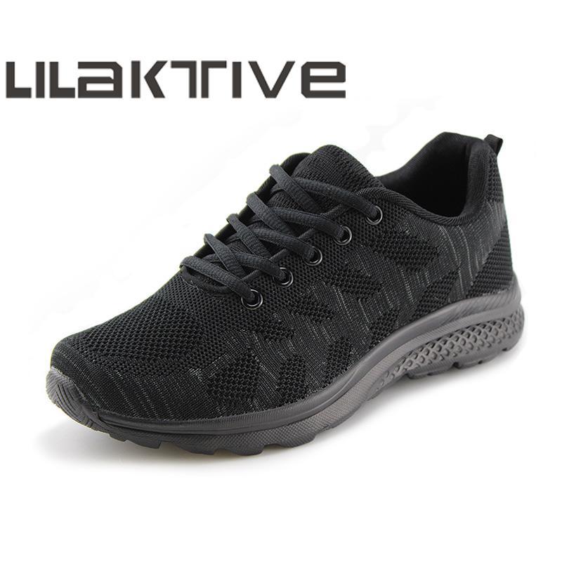 LILAKTIVE  Running Shoes Woman Platform Knit Sneakers Wome Shoes Plus Size 42 Comfortable Mesh Summer Shoes  zapatos de mujeLILAKTIVE  Running Shoes Woman Platform Knit Sneakers Wome Shoes Plus Size 42 Comfortable Mesh Summer Shoes  zapatos de muje