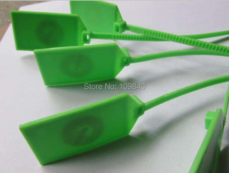 100pcs ISO14443A NTAG213 chip NFC RFID Segurança ZIP tie tag Selo de Plástico para todos os telefones NFC Identificate controle de acesso