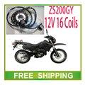 ZS200GY 250GS LY200 zongshen 200cc 250cc двигатель статора магнето катушки 12 В 16 катушки аксессуары бесплатная доставка