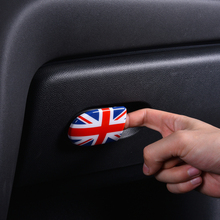 Car styling Storage box handle decoration sticker For BMW MINI F55 F56 F57 Cooper Clubman Co-pilot Handle Bowl Cover Accessories engine cover trunk cover line car stickers and decals car styling for mini cooper clubman f55 f56 sticker decoration accessories