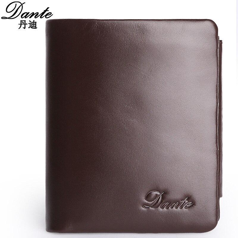 ФОТО Men Wallet Genuine Leather Fashion Design Short Wallet Large Capacity Men Purses Cow Leather Wallets Money Bag