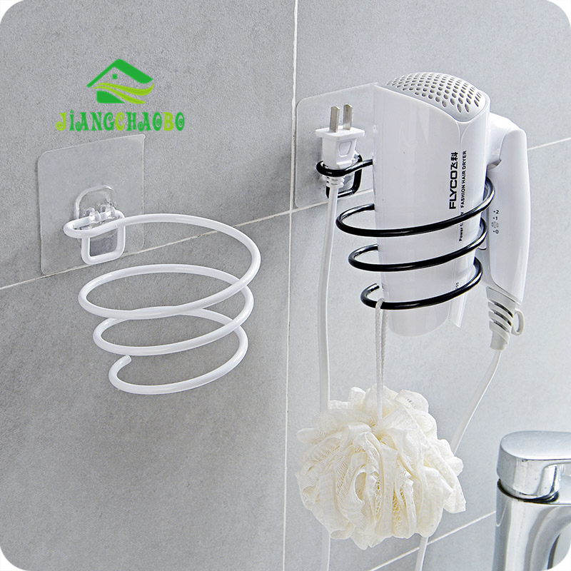 Free Punching Hair Dryer Home Bathroom Hair Dryer Shelf Bathroom Shelf Wall Mounted Air Duct Frame