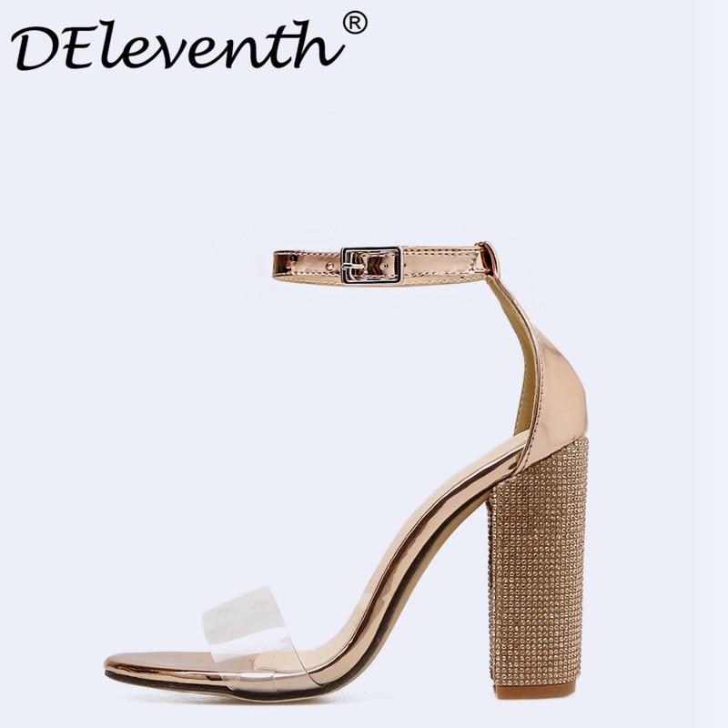 0b4f31cd34ef07 US $25.70 Femmes Sandales 2018 Nouveau Sexy De Mode D'été Stilett.