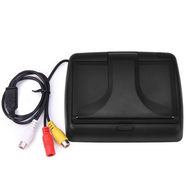 Portable 4.3 Inch 12V Wiredf 480*234 HD Car Reversing 3W Digital LCD Color Monitor Display NTSC PAL