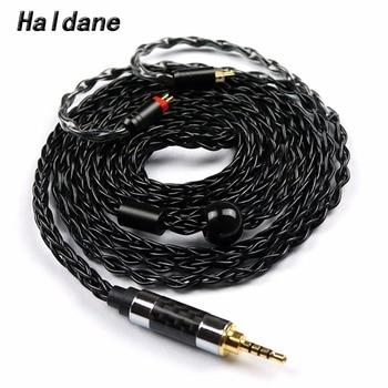 Free Shipping Haldane 2.5mm TRRS 0.78mm 2pin for UE18/JH13/16/W4r/UM3X/1964 Heir 10.A IEM8.0 IEM10.0 Headphone Upgrade Cable