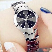 Lovers Watch Women Silver Bracelet Stainless Steel Wristwatc