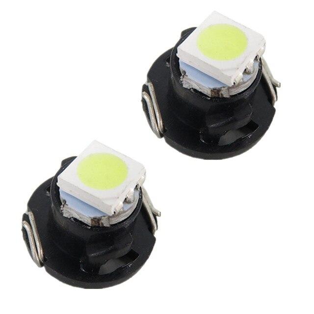 T4 2 Led Neo Wedge Switch Radio Dash Indicator Light A C