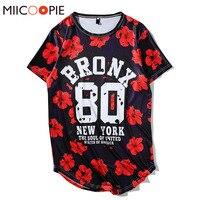 Summer Men Women Hip Hop Swag T Shirt 80 Letters Digital Rinting T Shirts Baseball Jersey