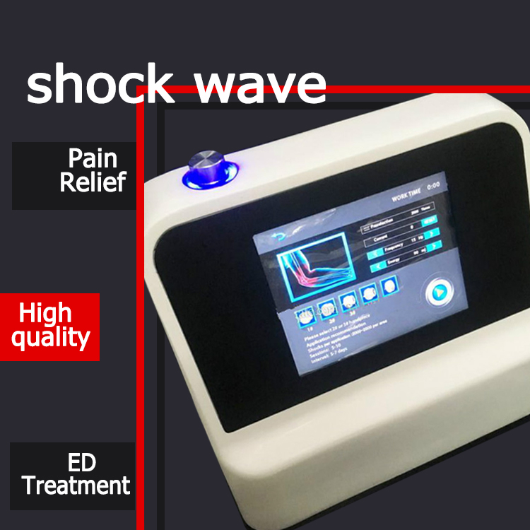Portable Magnetic Radial Shockwave Therapy Machine For Pain Relief Sports Injury/Portable Low Intensity Therapy For ED Treatment