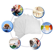 24PCS Dyeing Cloth Laundry Washing Machine Use Mixed Dyeing Proof Color Absorption Sheet Anti-Dye Water Absorption Cloth Sheets(China)