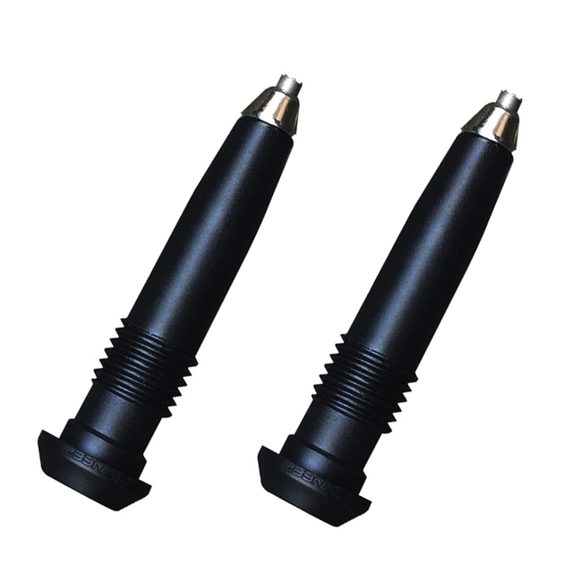 2Pcs/lot Walking Sticks tips Tungsten 8
