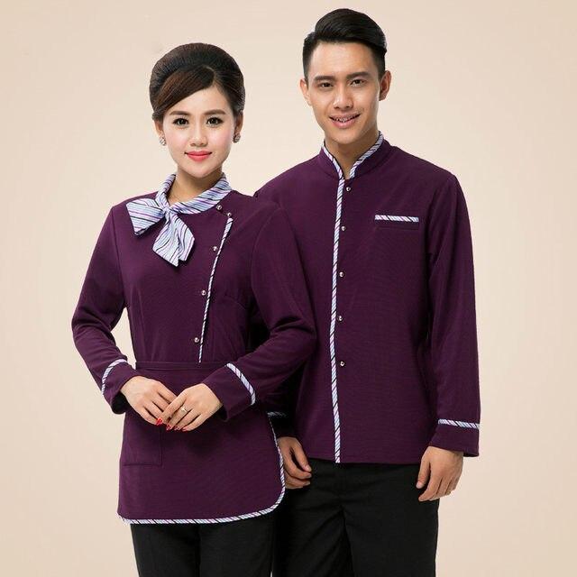 Tienda Online Top + delantal uniforme del camarero del hotel cocina ...