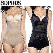 SDPRUS женское послеродовое утягивающее белье, Корректирующее белье, корсет, пояс, черный/Абрикосовый