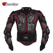 HEROBIKER Motocicleta Armadura Llena de Chaqueta spine protección pecho gear Protector de Motos de Motocross Chaqueta de La Motocicleta
